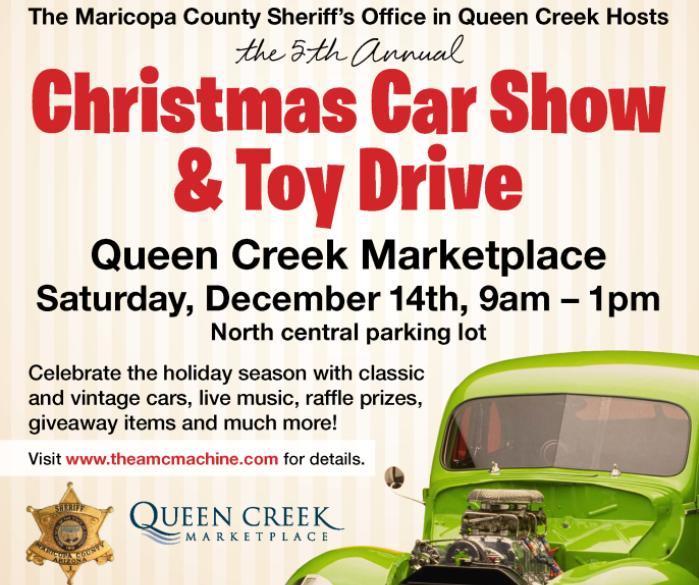 QCM Car Show Toy Drive 22x28