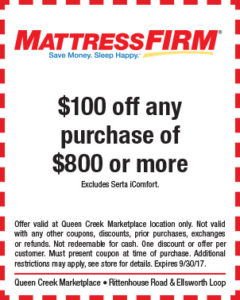 Mattress Firm BTS Mailer