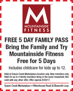 Mountainside Fitness BTS Mailer
