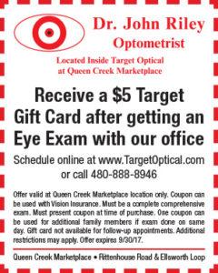 Target Optical BTS Mailer