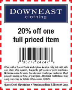DownEast BTS Mailer