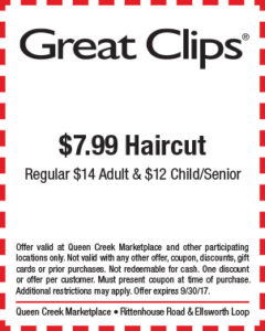 Great Clips BTS Mailer