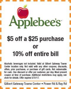 Applebee's Spring Mailer