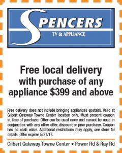 Spencers Spring Mailer