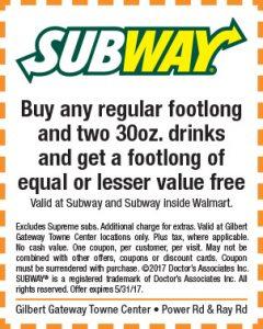 Subway Spring Mailer