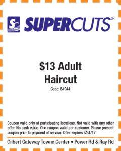 Supercuts Spring Mailer