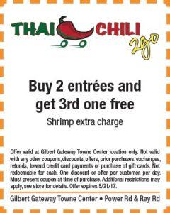 Thai Chili 2 Go Spring Mailer