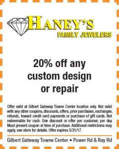 Haney's Spring Mailer