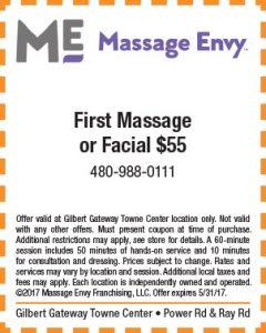 Massage Envy Spring Mailer