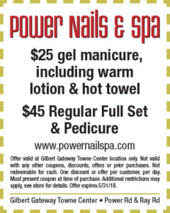 Power Nails & Spa Spring Coupon