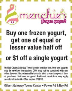 Menchie's Frozen Yogurt Spring Coupon
