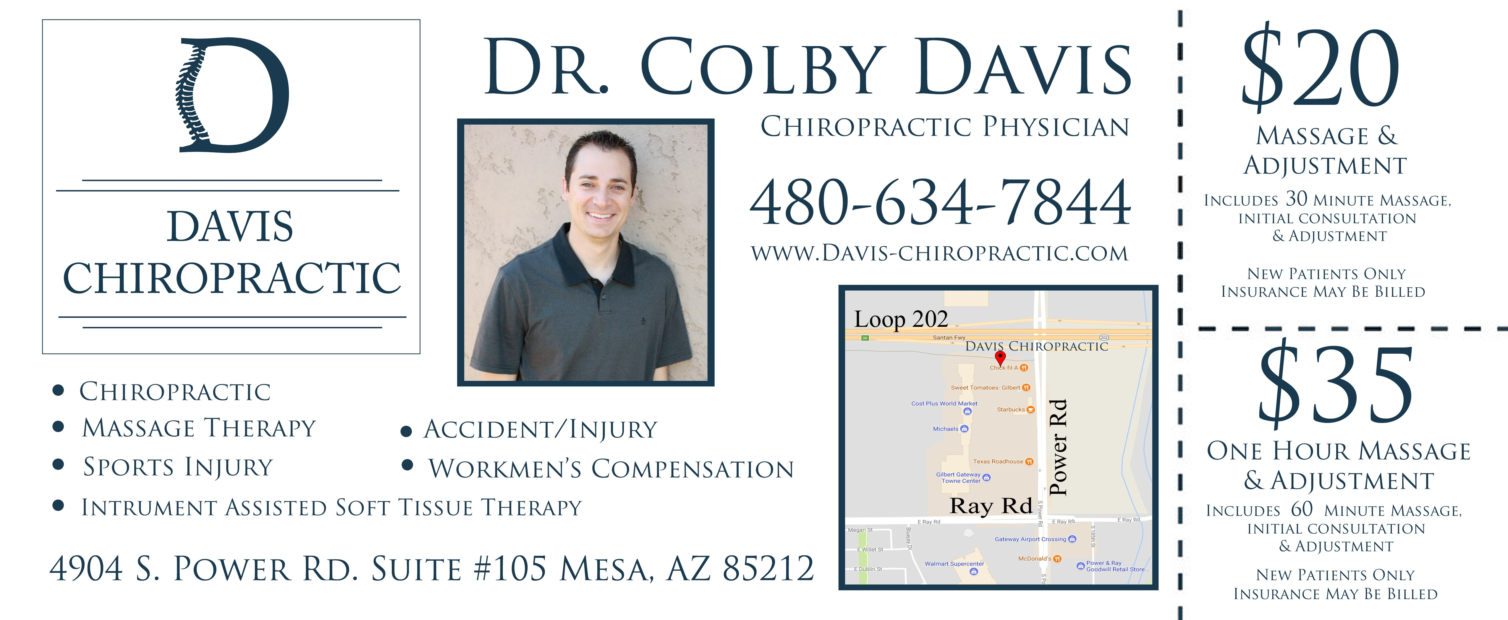 Davis Chiropractic Coupon