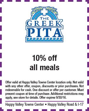 The Greek Pita