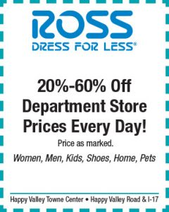 Ross Spring Coupon