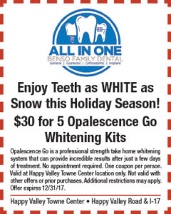 All in One Holiday Coupon