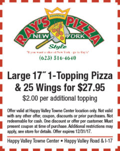 Ray's Pizza Holiday Coupon
