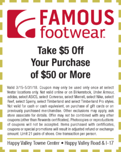 Famous Footwear Spring Coupon