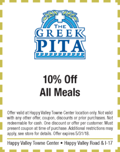 Greek Pita Spring Coupon