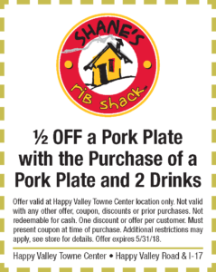 Shanes Spring Coupon