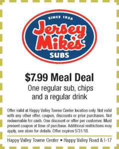 Jersey Mikes Spring Coupon