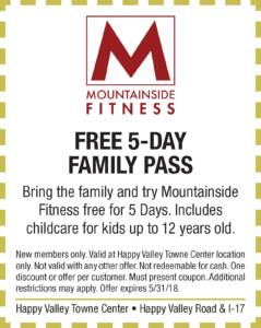 Mountainside Spring Coupon