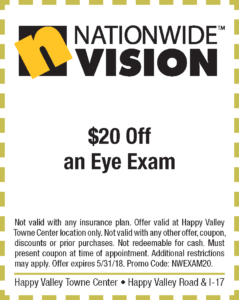 Nationwide Vision Spring Coupon