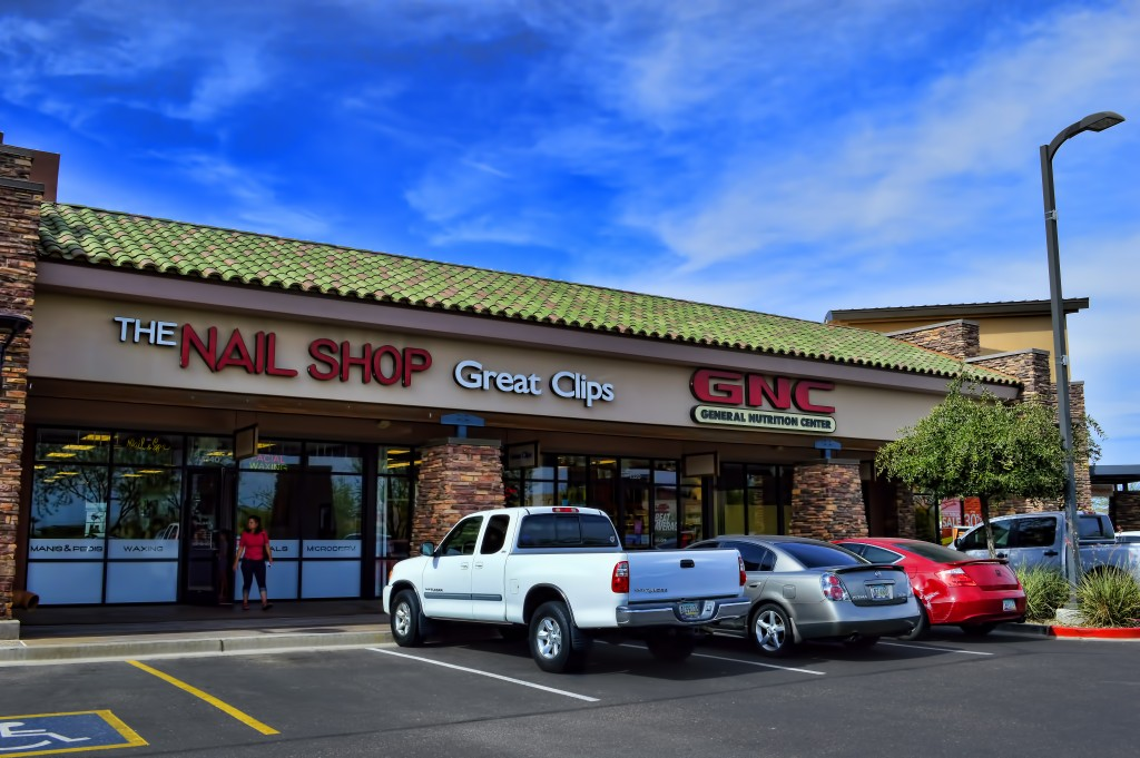 LP-The Nail Shop, Great Clips, and GNC