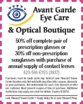 Avante Garde Eye Care