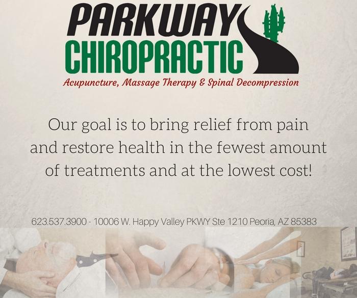 Parkway Chiropractic Web Banner