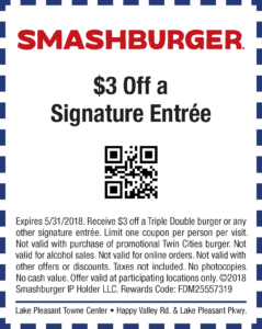 Smashburger Spring Coupon