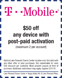T-Mobile Spring Coupon