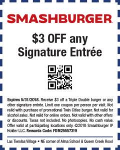 Smashburger Spring Coupon