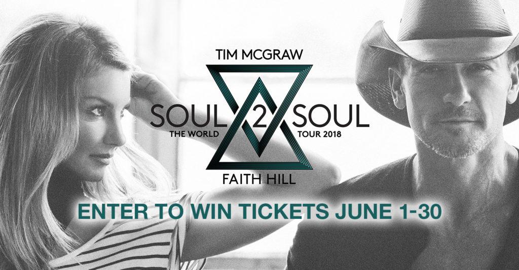 Tim & Faith Enter to Win